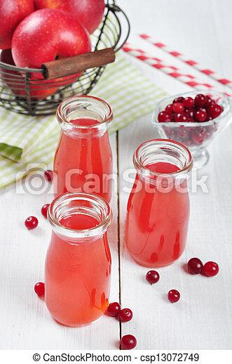 Cranberry juice - csp13072749