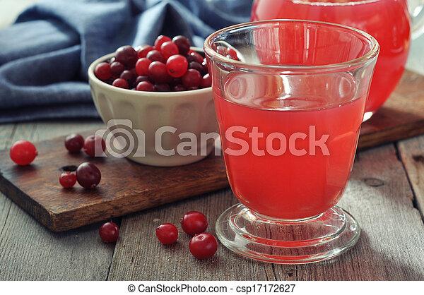 Cranberry juice - csp17172627