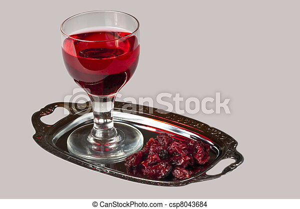 cranberry juice - csp8043684