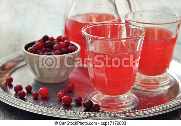 Cranberry juice - csp17172603