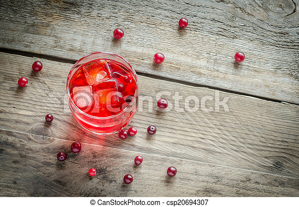 Cranberry juice - csp20694307