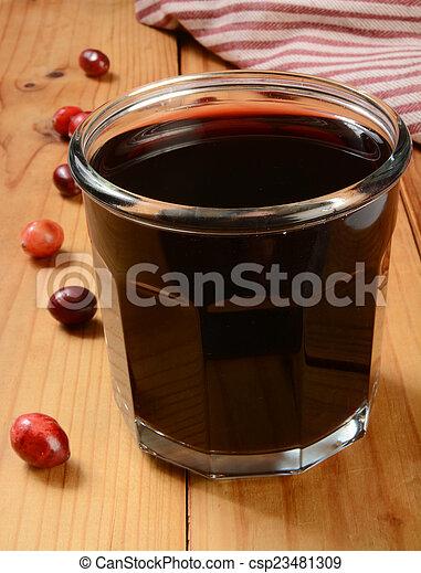 Cranberry juice - csp23481309