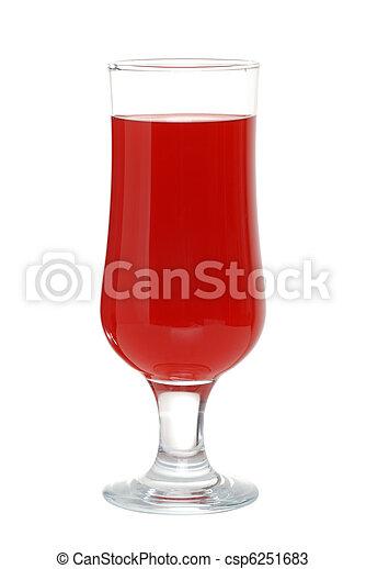 cranberry juice - csp6251683