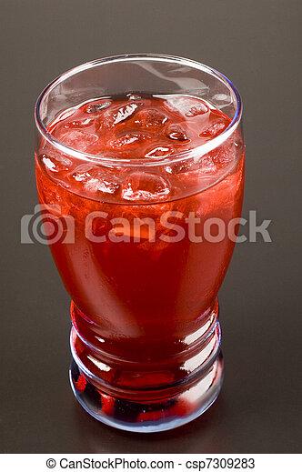 Cranberry Juice - csp7309283