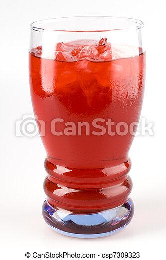 Cranberry Juice - csp7309323