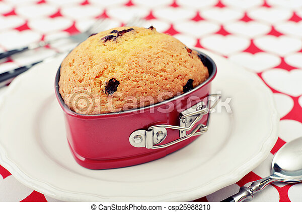 Cranberry muffin - csp25988210