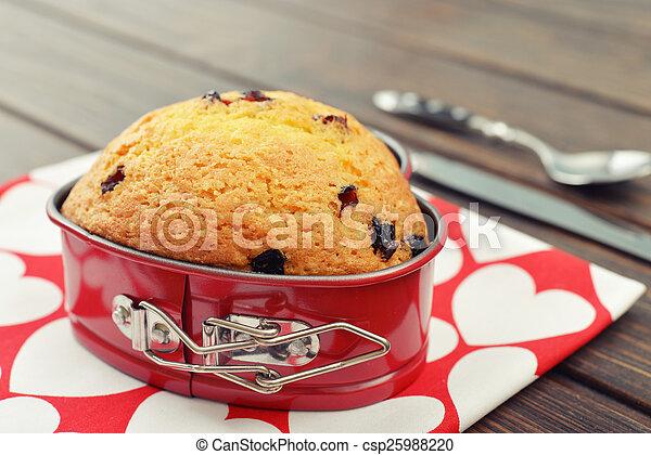Cranberry muffin - csp25988220
