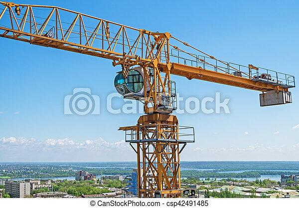 Crane construction - csp42491485