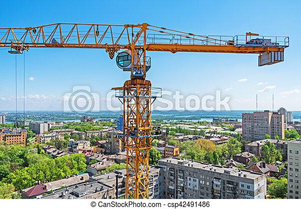Crane construction - csp42491486
