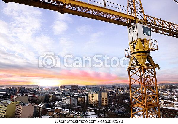 Crane Detail - csp0802570