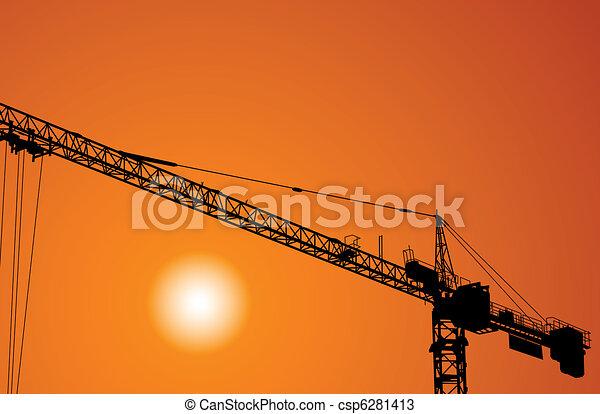 Crane - csp6281413