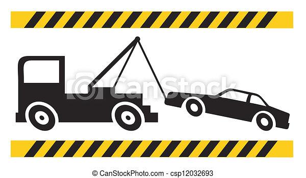 Crane icon - csp12032693