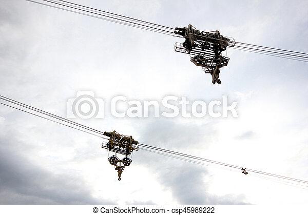Crane - csp45989222
