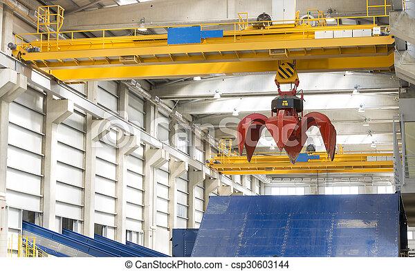 Crane waste plant - csp30603144