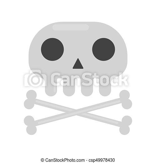 Uno scheletrou fuori dall armadio cartoni animati in corsia