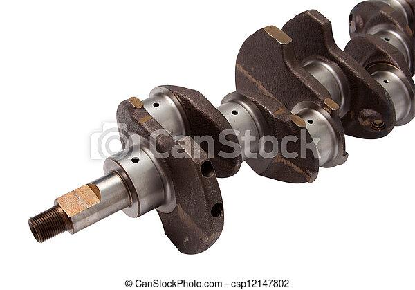 cranked shaft - csp12147802