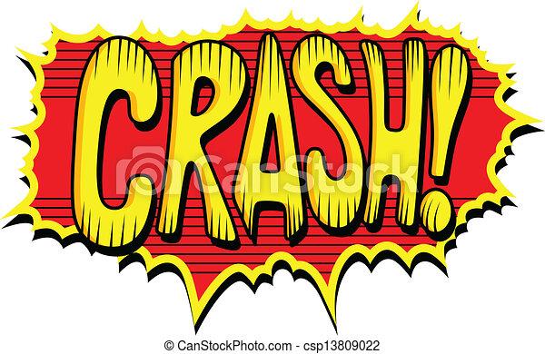 Crash - Comic Expression Text - csp13809022