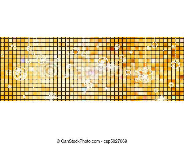 crastmas, light., eps, 背景, 8, モザイク - csp5027069