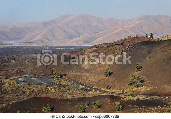 Craters of the Moon National Monument, Idaho, USA - csp66007789