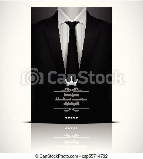 newest 895ae 4c3bc cravatta, smoking, abito nero