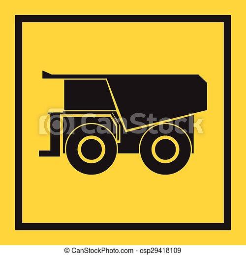 craw, trator, escavador, escavadora - csp29418109