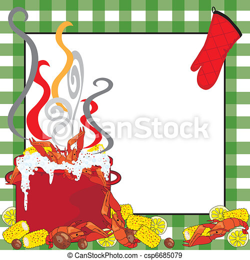 Crawfish Boil Invitation - csp6685079