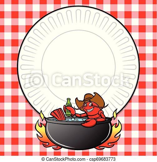 Crawfish Boil Invite - csp69683773