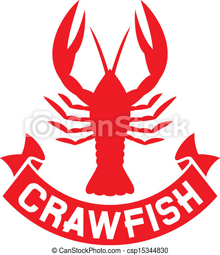 crawfish label - csp15344830
