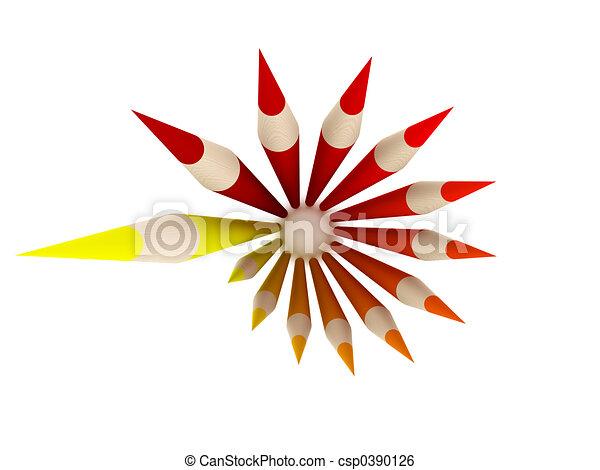 Crayon Circle 2 - csp0390126