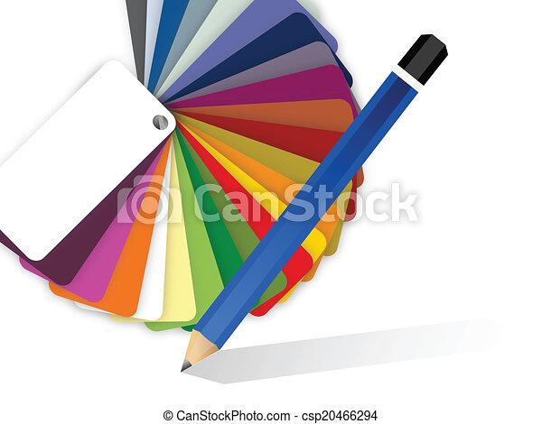 Crayon Couleur Dessin Palette