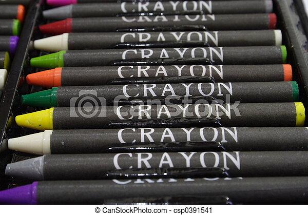 Crayons 2 - csp0391541