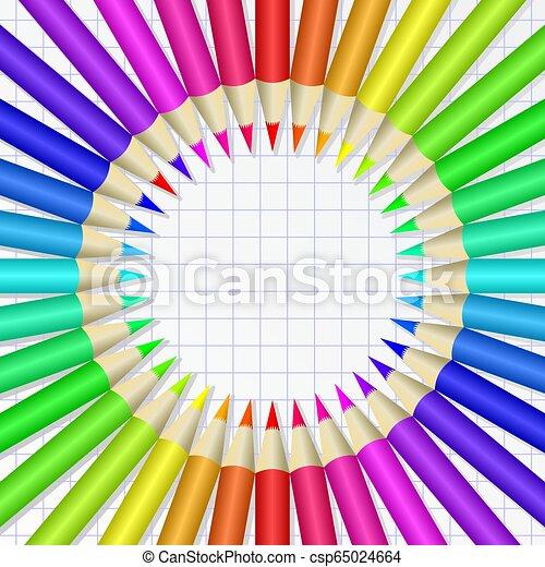 crayons - csp65024664