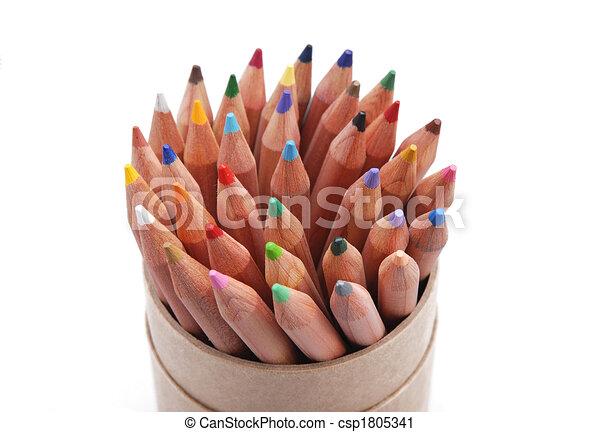 crayons - csp1805341