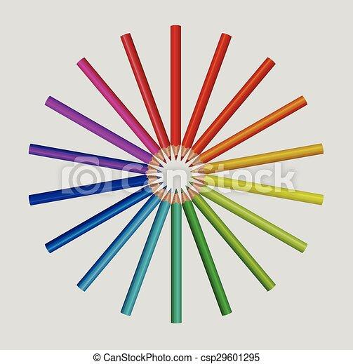 crayons, couleur - csp29601295