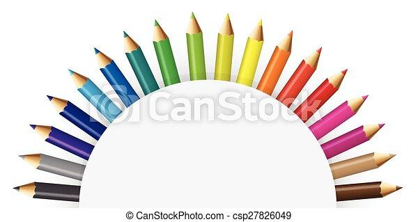crayons, couleur - csp27826049