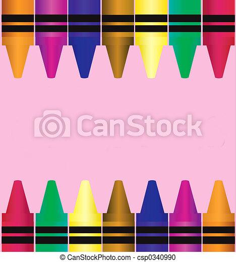 Crayons - csp0340990