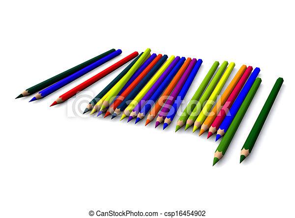 crayons - csp16454902