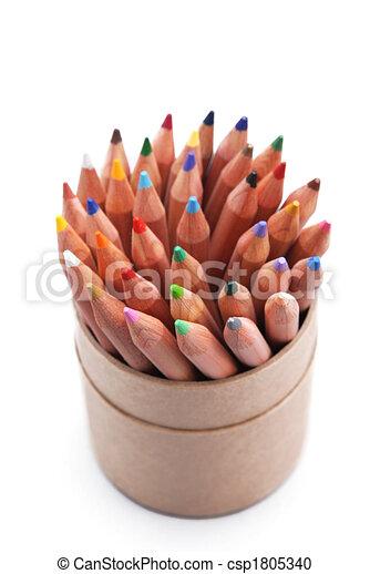 crayons - csp1805340