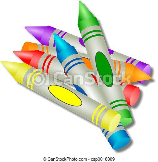Crayons - csp0016309