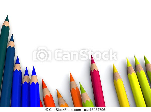 crayons - csp16454796