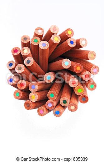 crayons - csp1805339