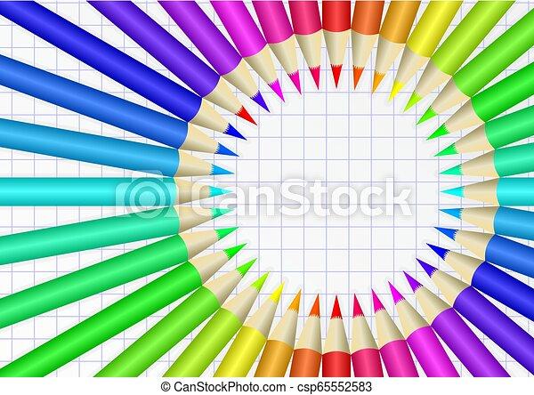 crayons - csp65552583