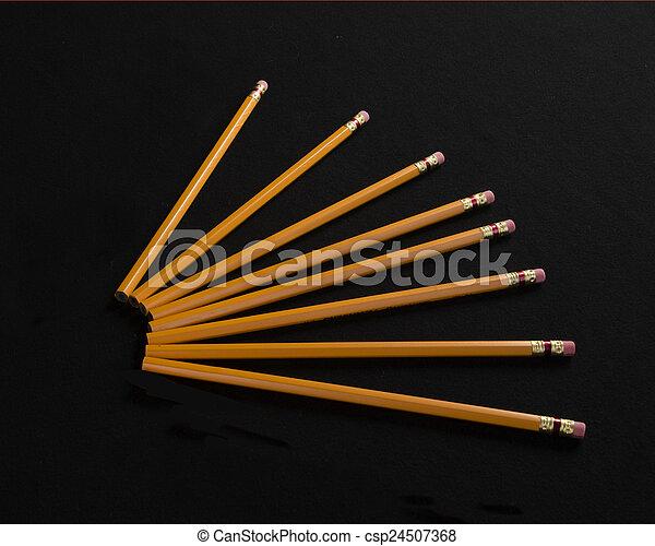 crayons - csp24507368