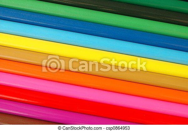 crayons - csp0864953