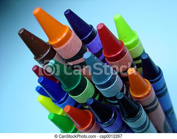 Crayons - csp0012267