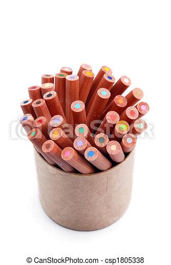 crayons - csp1805338