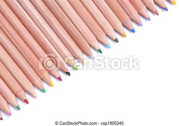 crayons - csp1805345
