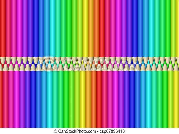 crayons - csp67836418