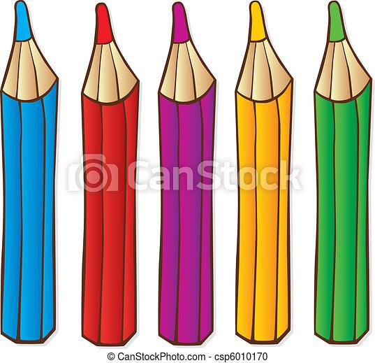 Crayons - csp6010170