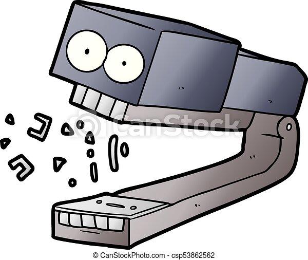 Stapler |Office Supplies – The Comic©  |Mean Cartoons Stapler